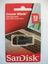 SanDisk Cruzer Blade Usb Flash Drive 32GB NEW FREE POST