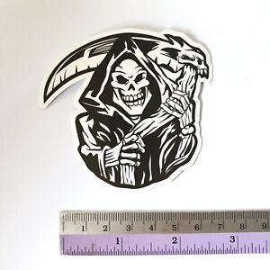 SANTA CRUZ Skeleton Sticker Bomb Cartoons Scary Skateboard Stickers