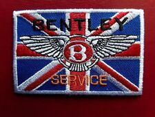 BENTLEY SERVICE BRITISH MOTORSPORT RACING CAR EMBROIDERED PATCH UK SELLER