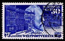 1949 GERMANY #669 HEINRICH VON STEPHAN - WMK 286 - USED - VF - CV$37.50 (E#8913)