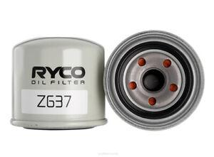 Ryco Oil Filter Z637 fits Hyundai Elantra 1.8 (XD), 2.0, 2.0 (XD), 2.0 CVVT (HD)