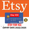 VCC Etsy Seller Verification Virtual Card 🔥Fast Delivery