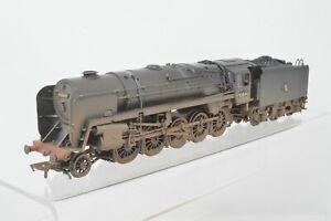 Bachmann OO Gauge - 32-853 Standard Class 9F 2-10-0 BR Black 92044 - Weathered