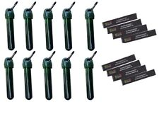 10 X Tube With Bracket Geocaching Hiding Place Set Packet Logbook Geocache Micro