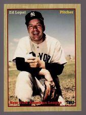 Ed Lopat, 1953 New York Yankees Monarch Corona rare limited edition 200 exist