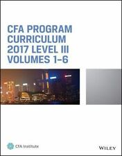 CFA Program Curriculum 2016 Level 2, Volumes 1 - 6