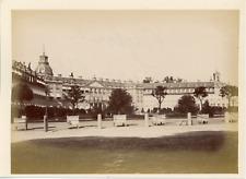 Deutschland, Karlsruhe Schloss  Vintage albumen print. Germany  Tirage albumin
