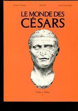 LE MONDE DES CESARS CATALOGUE EXPOSITION GENEVE 1982-1983 ILLUSTRATIONS
