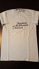 Vintage 80s Telephone Pioneers Of America T-Shirt Cell Sprint Verizon AT&T