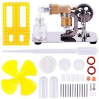 Mini Hot Air Stirling Engine Motor Model Educational Toy Kits Stirling Engine