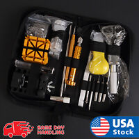 148 pcs Pro Watch Case Opener Link Pin Remover Screwdriver Repair Tools Kit Set