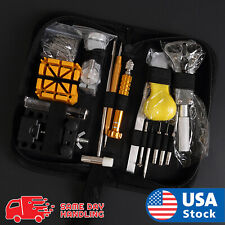 Pin Remover Screwdriver Repair Tools Kit Set 148 pcs Pro Watch Case Opener Link