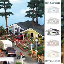 Villa House White H0 Scale 1:87 Diorama Model BUSCH