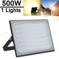 500W LED Flood light Warm White Arena Outdoor Garden Yard SpotLight IP67 110V