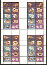 Republic of Palau 20 ¢ Stamp Sheet 1984 Seashells No. 1 Scott 41-50 * MINT