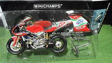 MOTO DUCATI 998 R BSB 2002 BYRNE SUPERBIKE 1/12 Minichamps 122021208 miniature