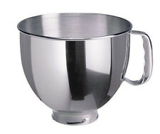 New K5THSBP KitchenAid Stainless Steel Bowl w/ Handle Fits 5 Quart Stand Mixers