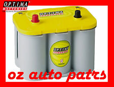 NEW OPTIMA YELLOW TOP D34 DEEP CYCLE BATTERY SUIT 750CCA 12V WAECO ENGEL FRIDGE