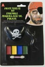Kit PIRATE Cache Oeil Moustache Maquillage Déguisement Adulte Homme COSTUME