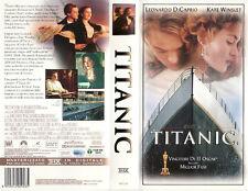 Titanic (1997) VHS