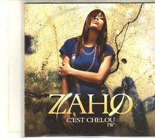 (DU159) Zaho, C'Est Chelou - 2008 DJ CD