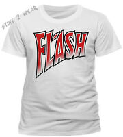 Queen Flash Gordon Emblem T Shirt Official Logo Freddie Mercury Movie White