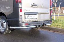 PROTECTIONS ARRIERE INOX X2,DIA 60 OPEL VIVARO 2014- GARANTI 6ANS