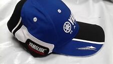 YAMAHA BASEBALL CAP PADDOCK BLUE RACING NEW GENUINE ROSSI BLUE 2016 R1 R6
