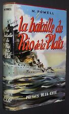 BATAILLE RIO DE LA PLATA 1939 M. POWELL / Cuirassé POCHE KRIEGSMARINE GRAF SPEE