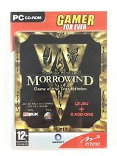 MORROWIND Game Of The Year Edition GOTY Tribunal + Bloodmoon Jeu PC