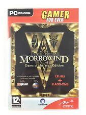 MORROWIND Game Of The Year Edition GOTY Tribunal + Bloodmoon Jeu PC