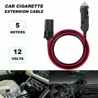 Car Cigarette Lighter Extension Cord Male To Female Socket Plug Cable Heavy Duty