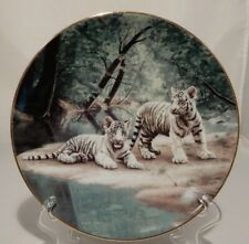 """Nature's Playmates """"Partners"""" Ws George Collector Plate by Charles Frace 1991"""