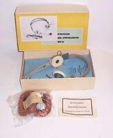 DDR Dinamico Hör - Auricolare Dhs 66 Scatola Originale Headset Annata