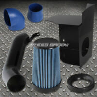 Cold Air Intake Induction//Blue Flat Top Gauze Filter For Toyota 07-09 Camry 2.4L