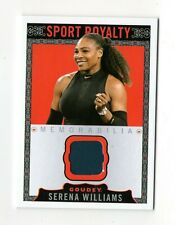 SERENA WILLIAMS ATP 2018 UD GOODWIN CHAMPIONS GOUDEY SPORT ROYALTY MEMORABILIA