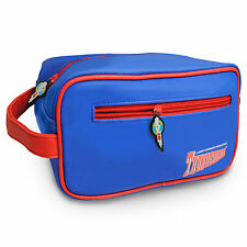 Bleu rétro superbe & red Thunderbirds International Rescue laver sac * NEUF *