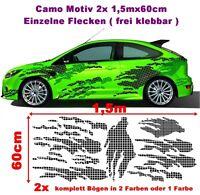 Karo Camouflage Camo Tuning Aufkleber Sticker Hater Geil Old JDM komplett