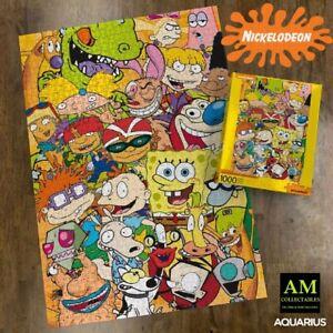AQUARIUS Puzzle - Nickelodeon - Cast - 1000 Parti - Nuovo / Conf. Orig.