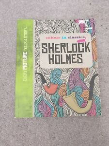 Colour in Classics: Sherlock Holmes, Paperback,  by Colour in Classics