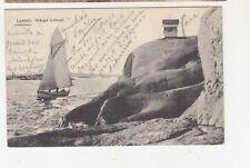 SWEDEN, 1911 ppc. Lysekil, Stange Hufvud, 10o. LYSEKIL to Belgium.