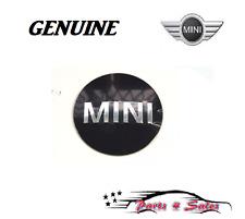 Mini Cooper Wheel Center Cap Emblem Sticker  36136758687 GENUINE NEW