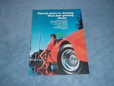"""1977 E-T Mags Wheels Vintage Ad """"There's More to Driving Than Just Getting There"""