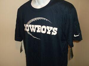 Dallas Cowboys Nike Dri Fit Shirt Youth XL 18-20 nwt Free Ship