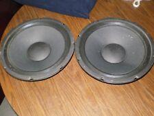 """Rowe AMI CD100 Jukebox 12"""" 8-Ohm Speakers Pair Part# 40731002 - CD-100"""