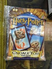 New Sealed 2001 Harry Potter Gnome Toss Card Game