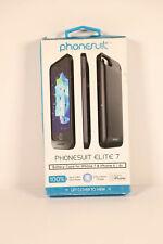 PhoneSuit Elite 2200 mAh Battery Case for iPhone 6, 7, 8 - Black