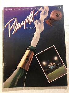 1983 ALCS Baltimore ORIOLES vs CHICAGO WHITE SOX American League Championship