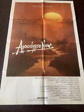 Original Vintage Movie Poster One Sheet Cinema Apocalypse Now Vietnam Duvall