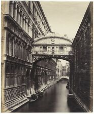 Venice Venezia Italia Italie Grand albumine ca 1865
